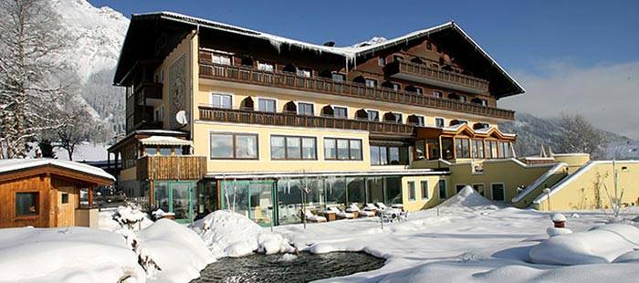 Berghof Hotel Im Winter