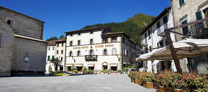 Grand hotel terme roseo bagno di romagna emilia romagna - Hotel terme bagno di romagna ...
