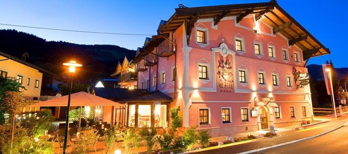 Reitlwirt Hotel Abend