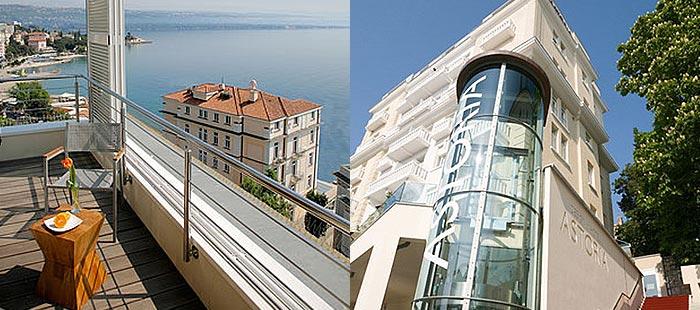 Hotel astoria opatija opatija kvarner bucht kroatien for Design hotel kroatien
