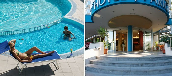 Parigi Pool Und Eingang