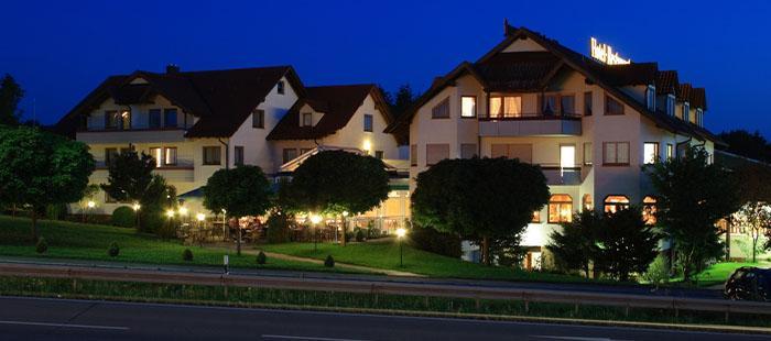 Empfingerhof Hotel Abend