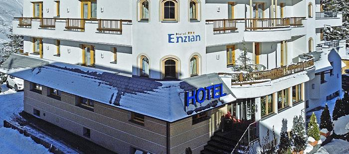 Enzian Hotel Winter