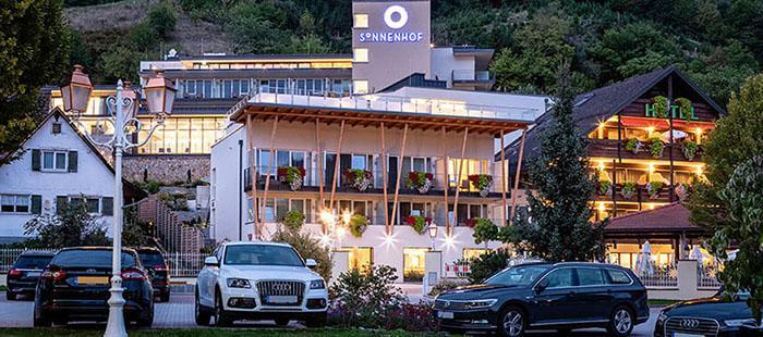 Sonnenhof Hotel Abend
