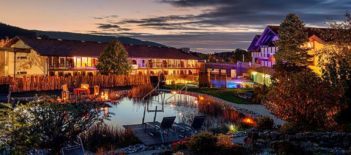 Lindenwirt Hotel Abend2