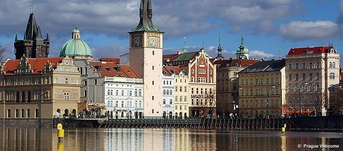 Prag Altstadt Wasserturm