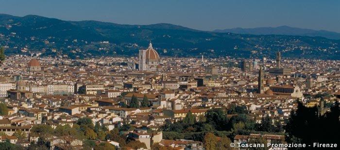 Toskana Firenze Panorama