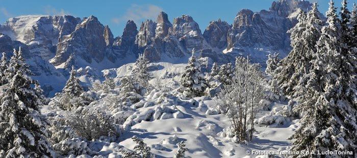 Trentino Berge Winter2