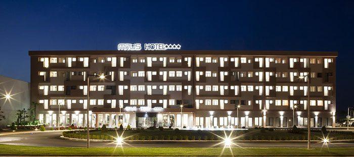 Mjus Hotel Abend