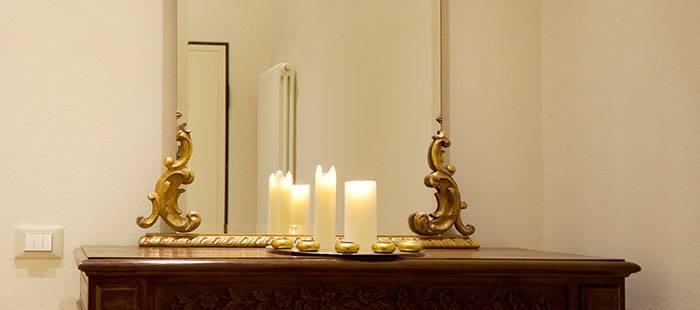Lareunion Spiegel Kerzen