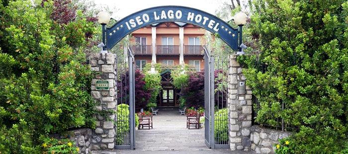 Iseolago Hotel Eingang