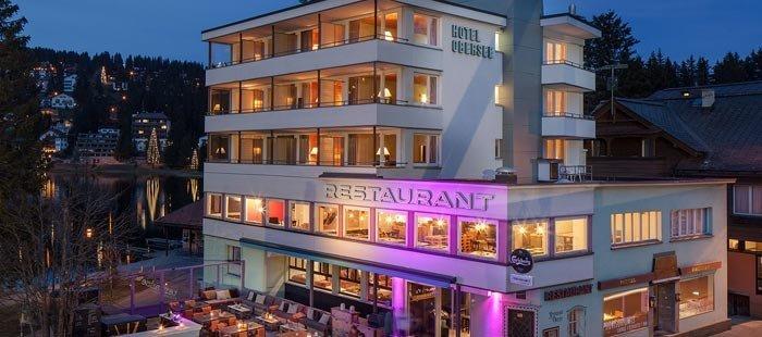 Provisorium13 Hotel Abend