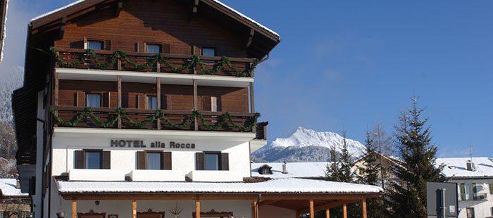 Alla Rocca Hotel Winter2