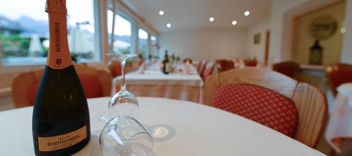Montanara Restaurant Sekt