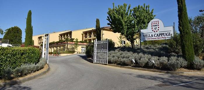 Cappugi Hotel Zufahrt