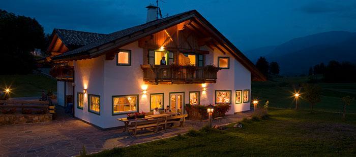 Maso Hotel Abend