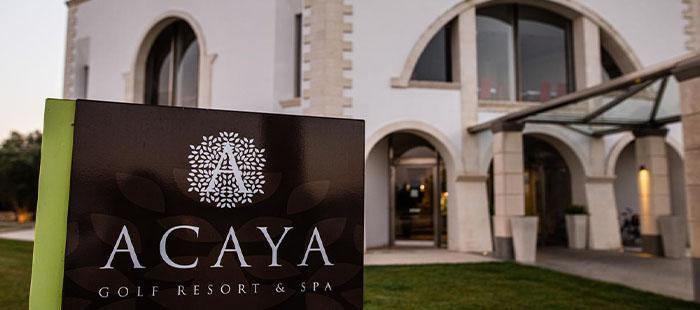 Acaya Hotel Eingang