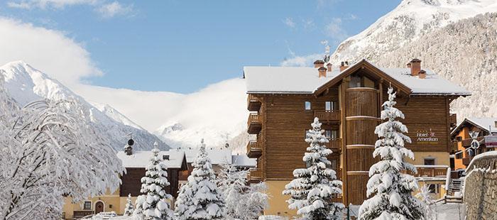 Amerikan Hotel Winter