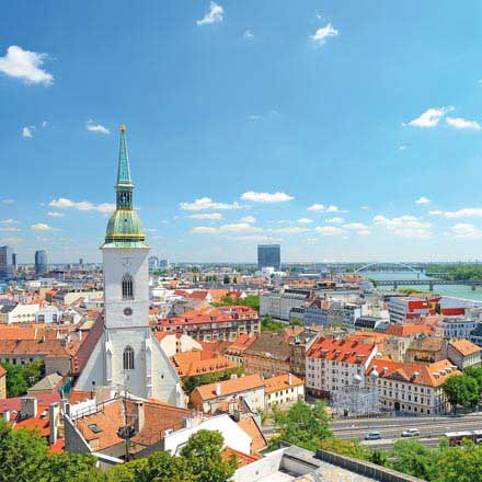 Urlaubsgutscheine für Ihre Städtereise nach Bratislava