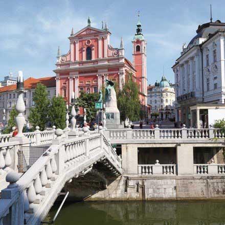 Urlaubsgutscheine für Ihre Städtereise nach Laibach