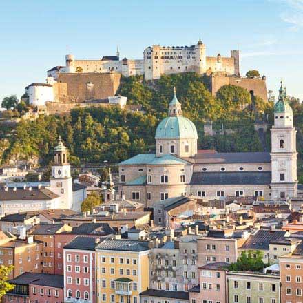 Urlaubsgutscheine für Ihre Städtereise nach Salzburg